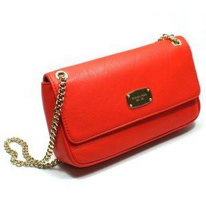 Michael Kors Orange/Red Jet Set Shoulder Bag